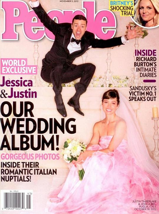 Justin a Jesicca se nedávno vzali.