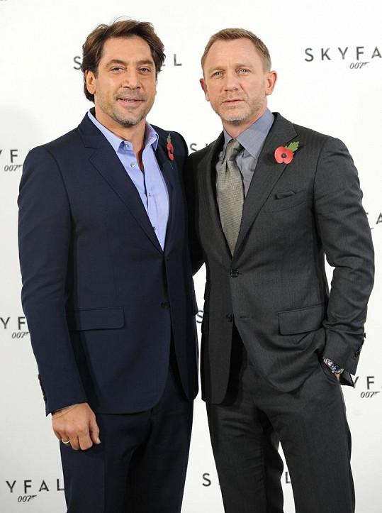 Javier Bardem a Daniel Craig.