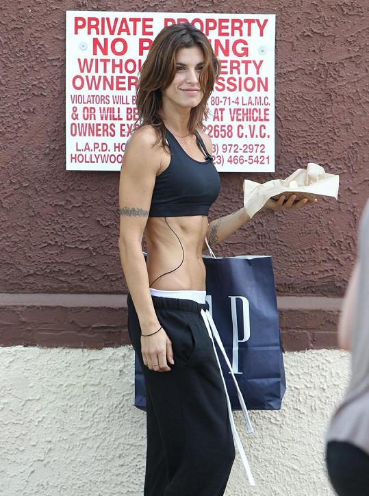 Clooneyho expřítelkyně během tréninku v taneční soutěži hodně zhubla.