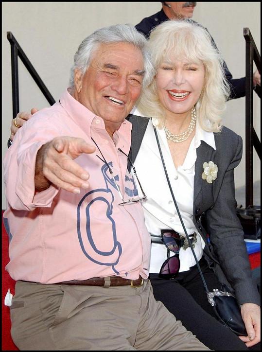 Loretta byla velkou přítelkyní Petera Falka.