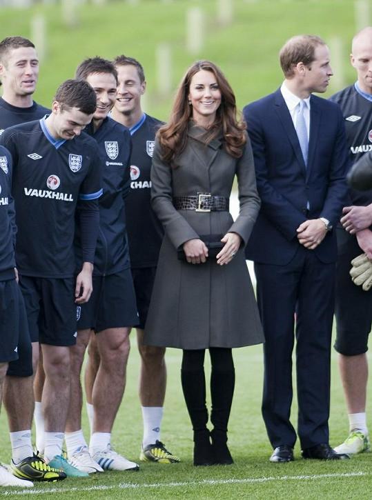Kate Middleton mezi sportovci.