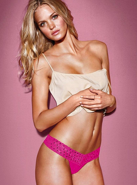 Erin Heatherton pro Victoria´s Secret.