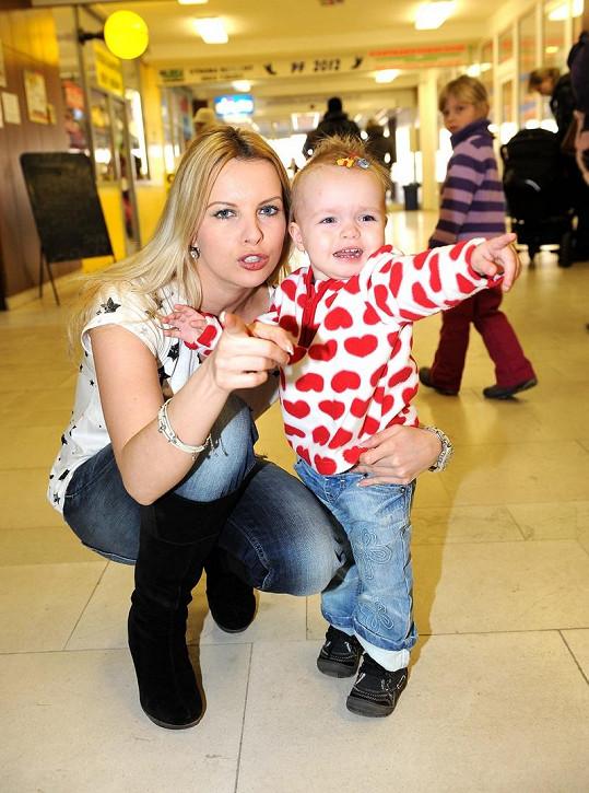 Kateřina Kristelová s dcerou Klaudií.
