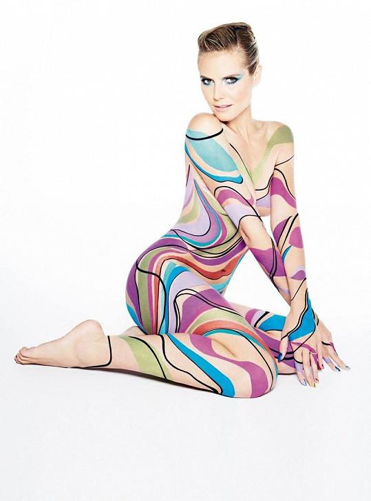 Heidi Klum má tělo stejně sexy jako před dvaceti lety.