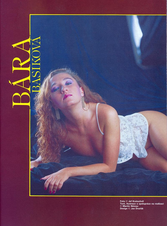 Bára Basiková se neměla za co stydět.