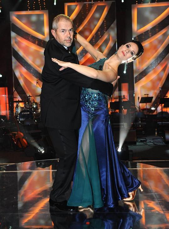 Marek Eben a Tereza Kostková zatančili tango a začali si tykat.