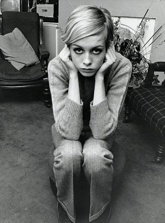 Twiggy v roce 1966.