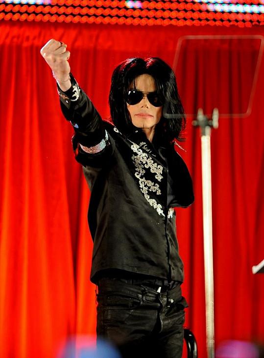 Michael Jackson před smrtí plánoval turné.