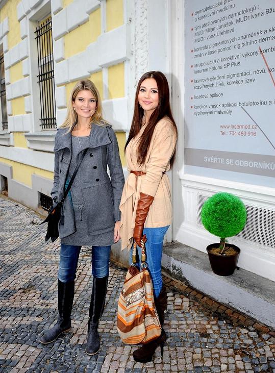 Hana Svobodová a Iveta Lutovská jsou velké kamarádky.