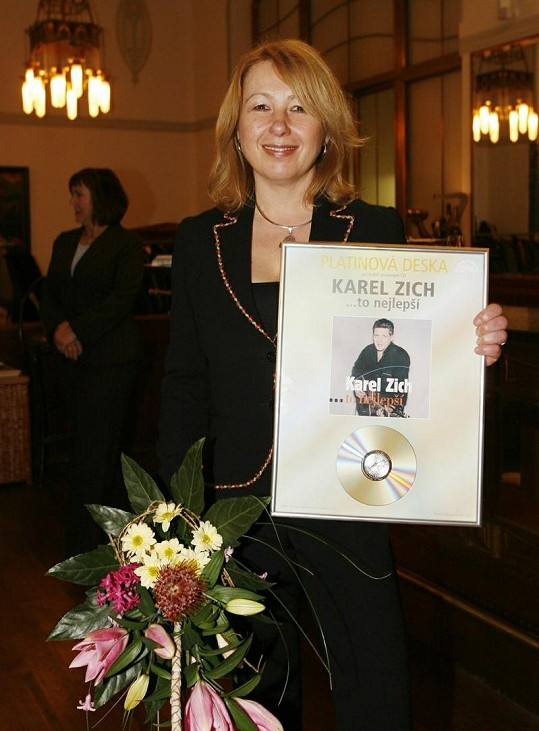 Druhá manželka Karla Zicha Jana se s jeho smrtí dlouho vyrovnávala.