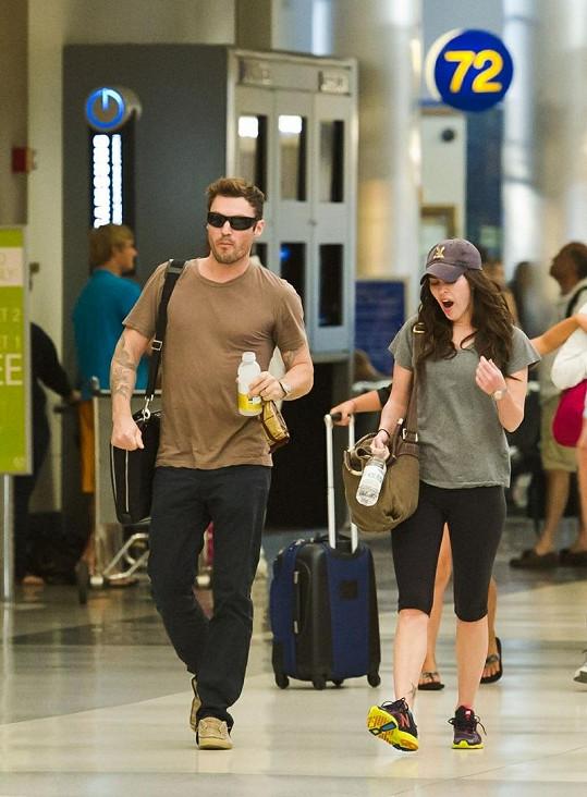 Megan Fox a Brian Austin Green.