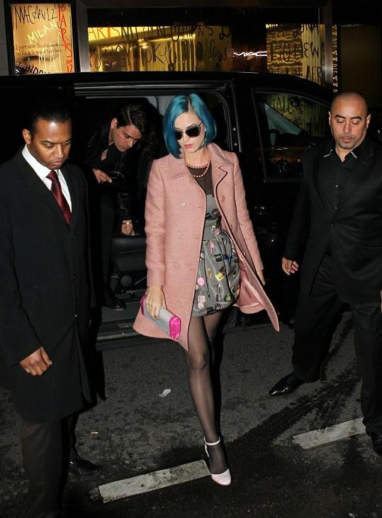Stylová Katy Perry v Paříži.
