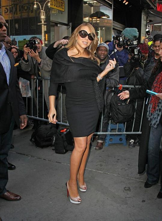 Mariah má téměř rok po porodu opět skvělou postavu.