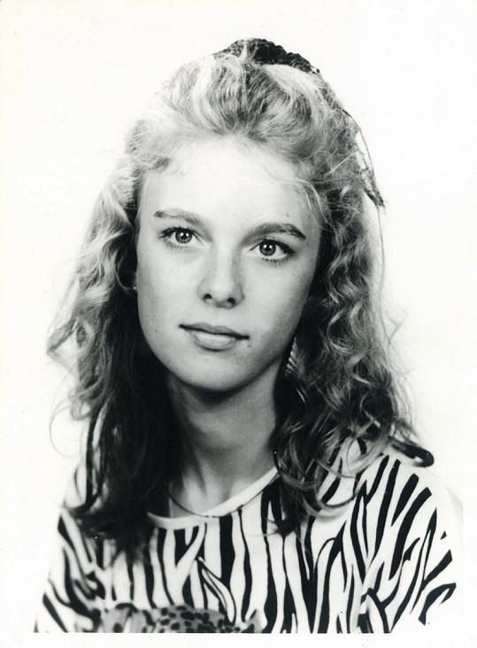 Lucie Benešová byla velmi líbezná mladá dívka.