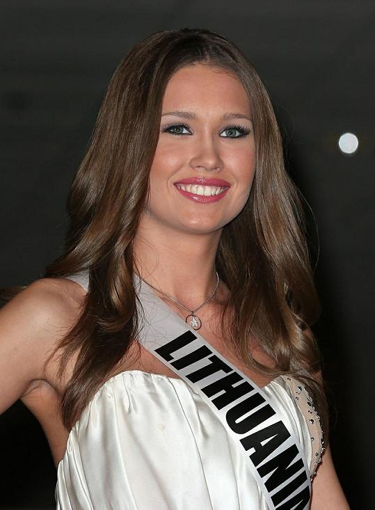 Miss Litva Greta Mikalauskyte.