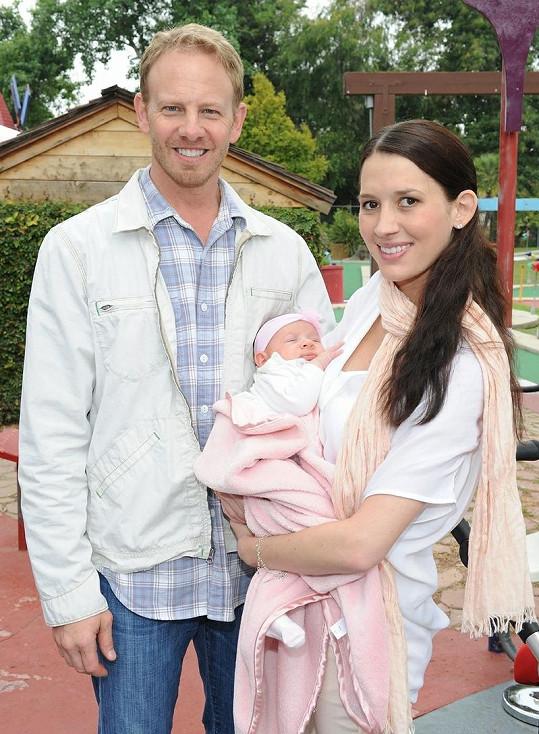 Ian Ziering s rodinou.