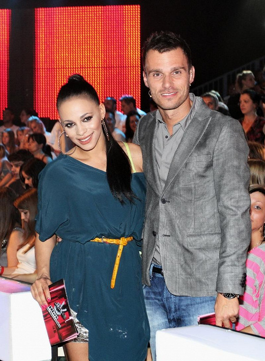 S Leošem Marešem moderovala SuperStar i Hlas Česko Slovenska.