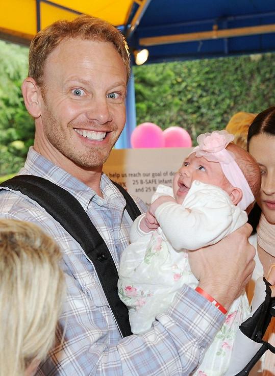 Ian Ziering s dcerou Miou.