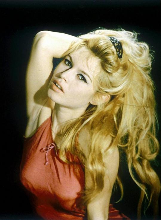 Brigitte Bardot na vrcholu své slávy.