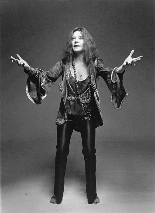 Janis Joplin patřila k symbolům hnutí hippies.