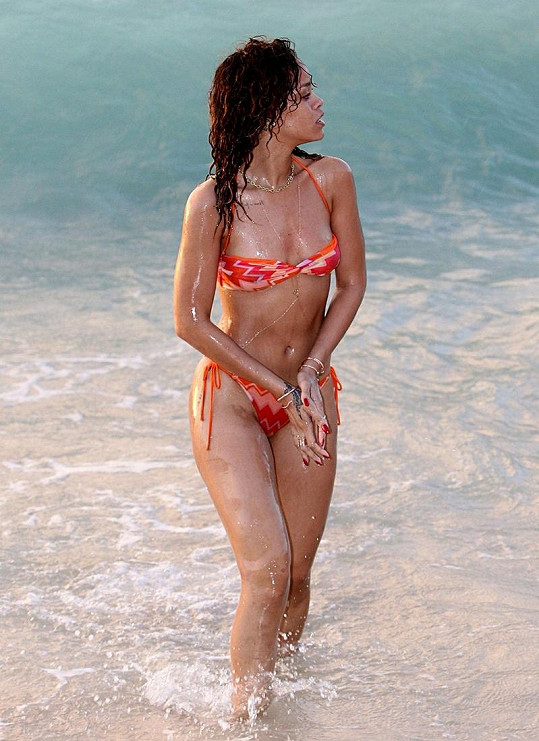 Rihanna odjela na Barbados po skončení svého koncertního turné Loud.