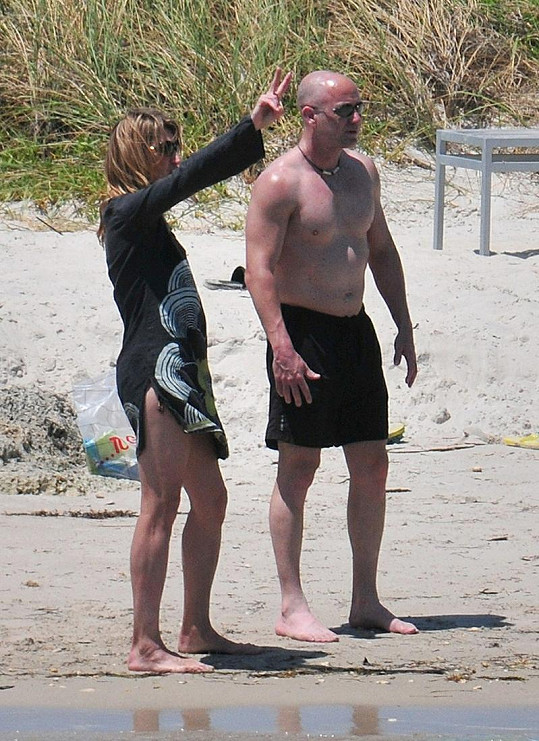 Manželé Andre Agassi a Steffi Graf v Miami.