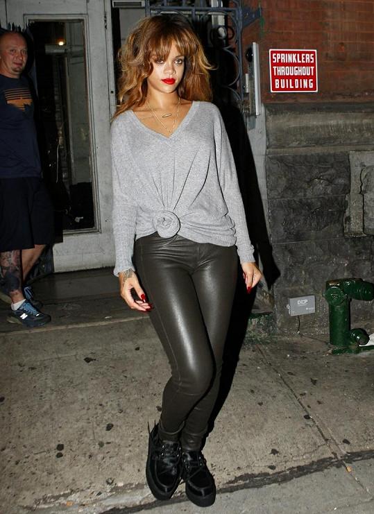 Rihanna platila za jednu z nejstylovějších celebrit.