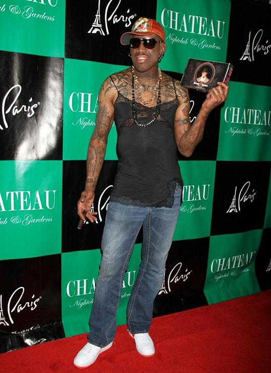 Hvězda NBA během oslav narozenin v nočním klubu v Las Vegas.