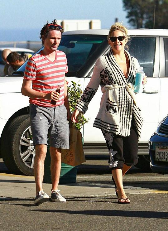 Kate Hudson a Matthew Bellamy na starším snímku.