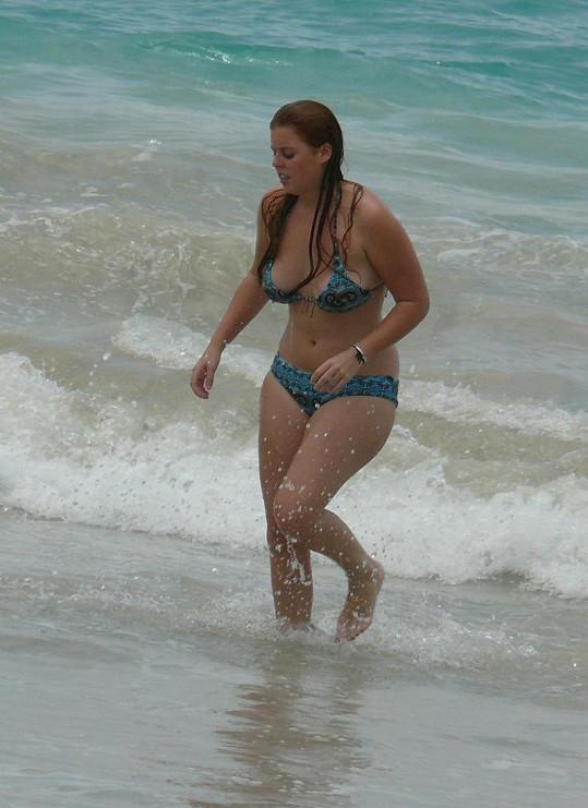 Svá nadměrná kila ale od té doby dokázala shodit.