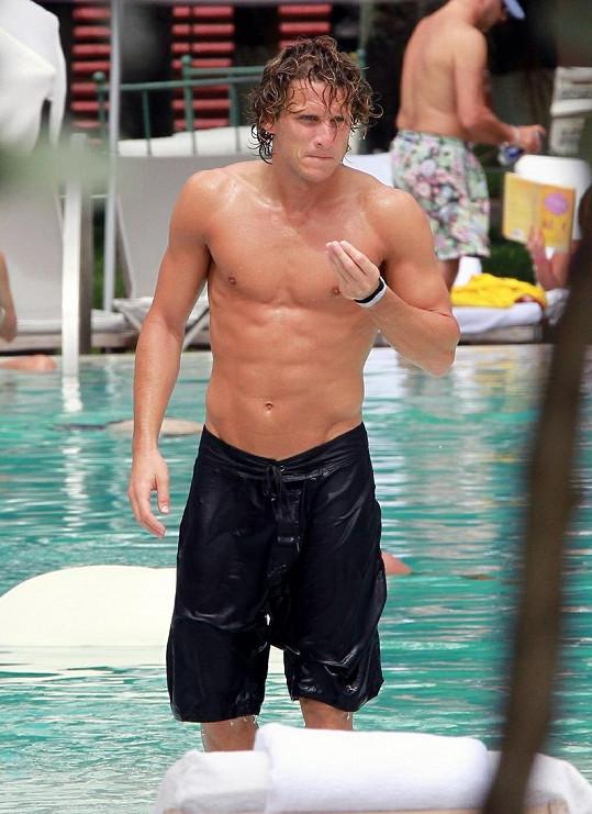 Uruguayský fotbalista na dovolené.