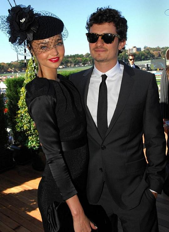 Orlando Bloom a Miranda Kerr.
