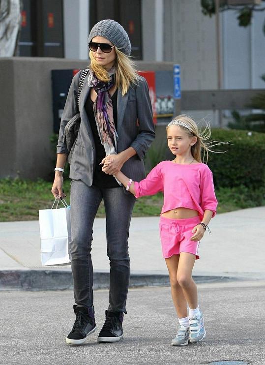 Leni Klum roste do krásy, bude modelkou jako její slavná matka?