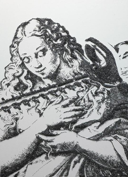 Baptiste Debombourg vytváří vskutku obdivuhodná díla.