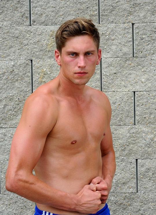 Marek Podmolík, 25 let, student z Nového Jičína