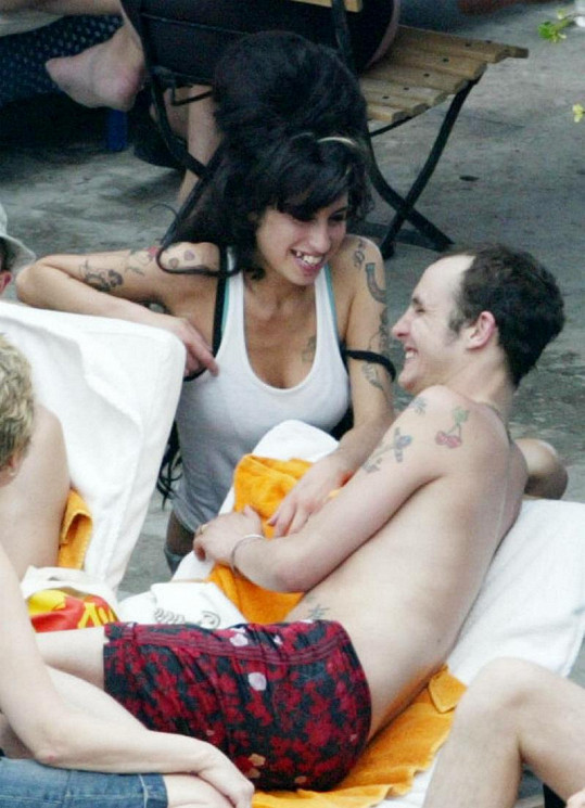 Amy Winehouse a Blake Fielder-Civil.