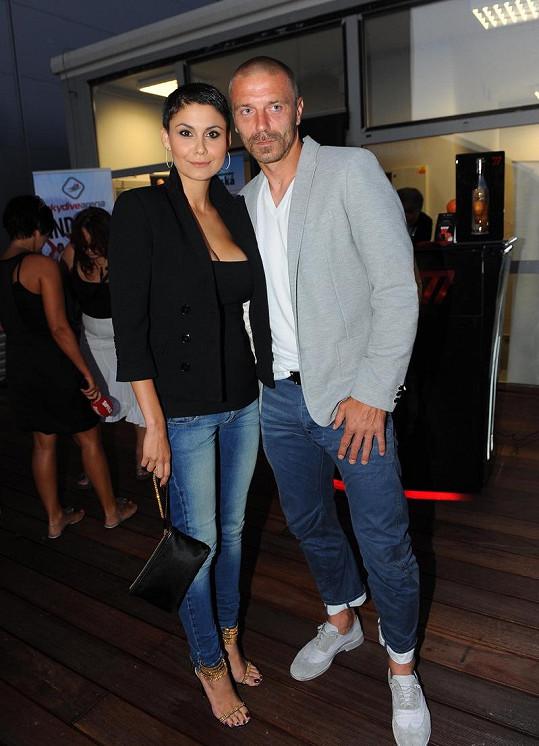 Vlaďka Erbová a její přítel Tomáš Řepka jsou stále zamilovaní.