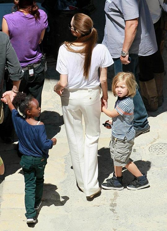Angelina a Shiloh.