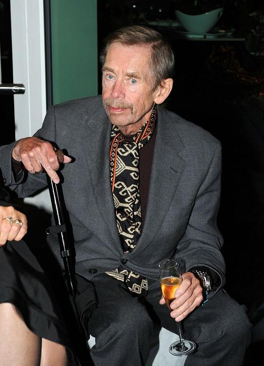 Václav Havel nedávno prodělal vážné onemocnění.
