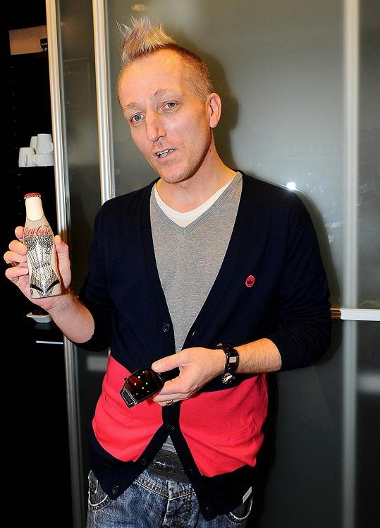 Pepa Klír by chtěl mít také svoji limitovanou edici lahví jako Jean Paul Gaultier.