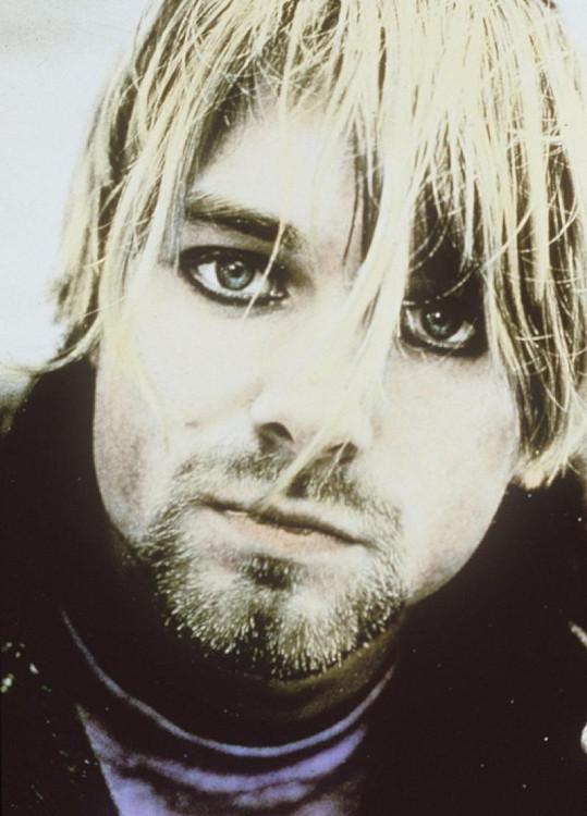 Frontman Nirvany Kurt Cobain.