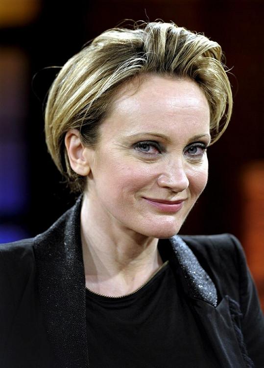 Francouzská zpěvačka Patricia Kaas.