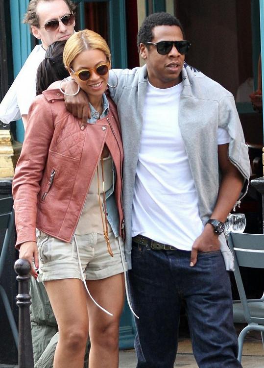 Šťastný pár - Beyoncé a Jay-Z.