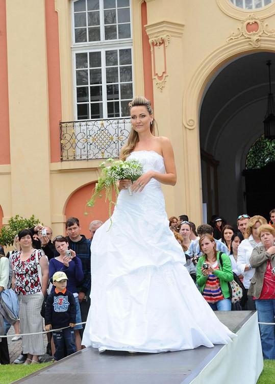 Zuzana Rosáková už se vdávala dvakrát.