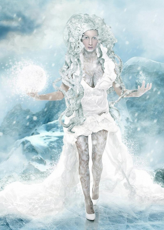 Ledová královna v Grónsku.