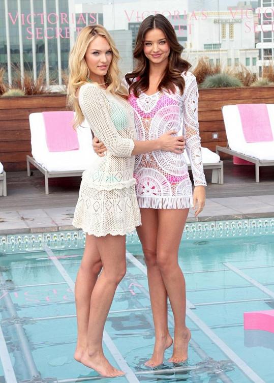 Obě modelky jsou tvářemi značky Victoria´s Secret.