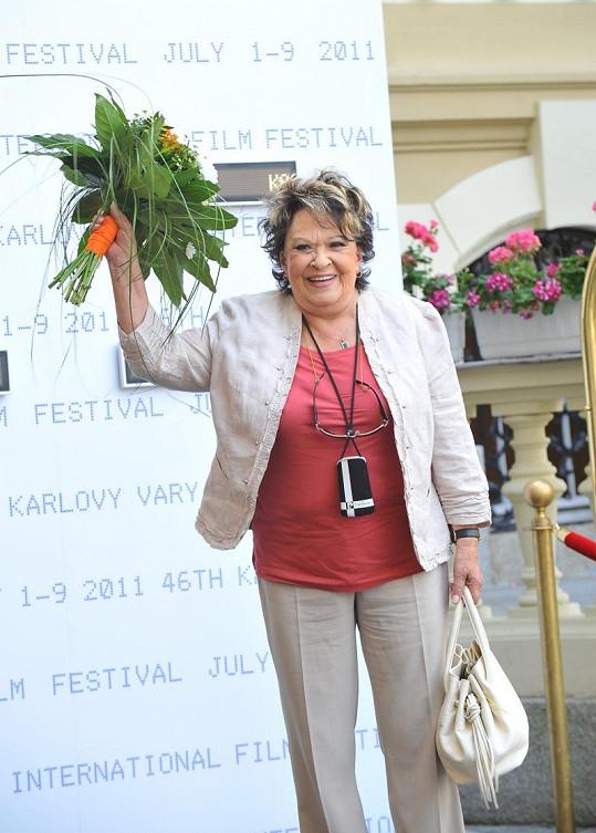 Jiřína Bohdalová bude také jednou z hvězd Sanitky 2.