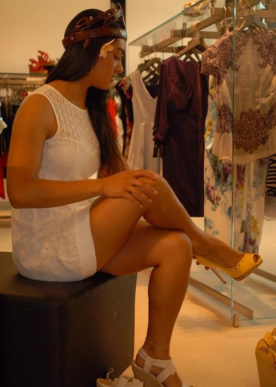 Lili Pate má ráda vysoké podpatky.