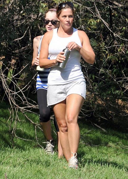 Eggert šla koncem roku 2009 do sebe a začala sportovat.