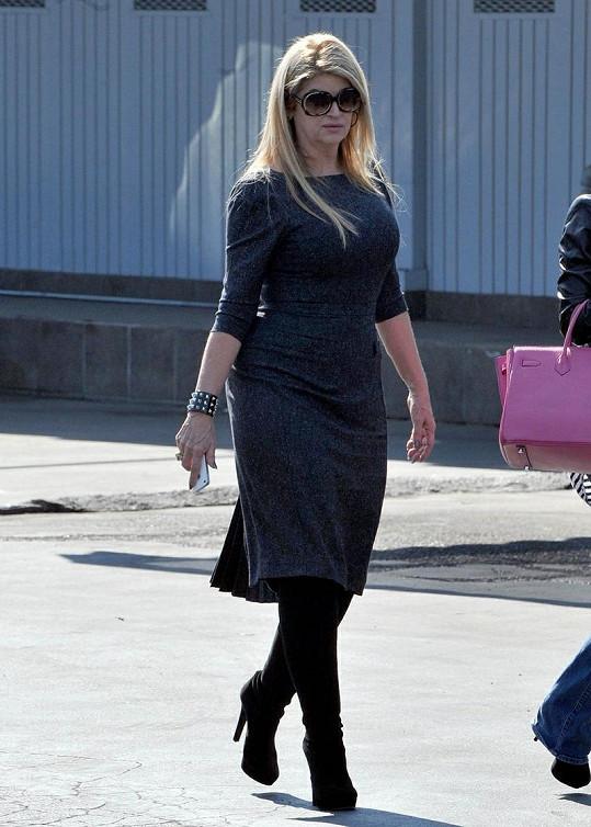Herečka byla k vidění s dcerou v Los Feliz.